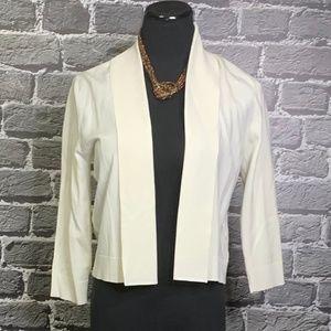 Calvin Klein Sz S Silk Blend Shrug Cardigan Crop